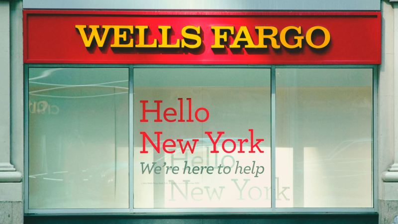 Wells Fargo bank financial services