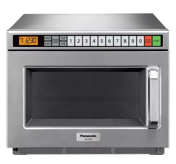 panasonic ne 17523 1700 watt commercial microwave oven heavy duty