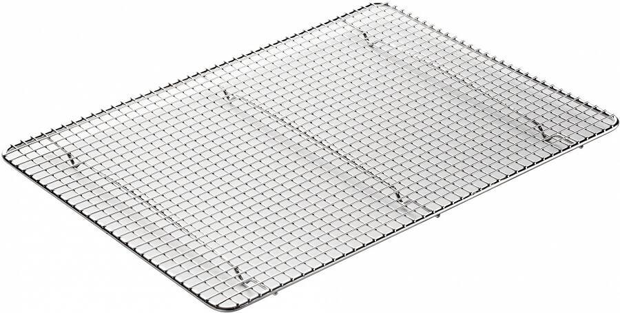 winco pgws 1216 16 1 2 x 12 stainless steel bun sheet pan rack