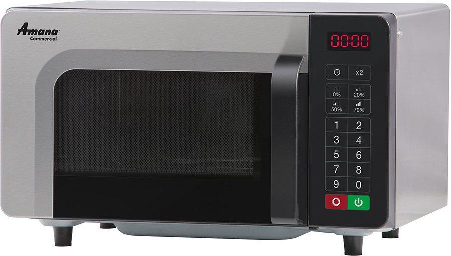 amana rms10tsa 1 000 watt commercial microwave oven low volume