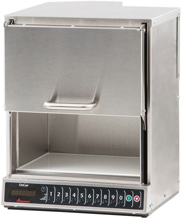 amana aoc24 2 400 watt commercial microwave oven heavy volume