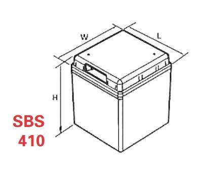 VRLA Battery PowerSafe SBS EON 2V 410 Ah SBS 410