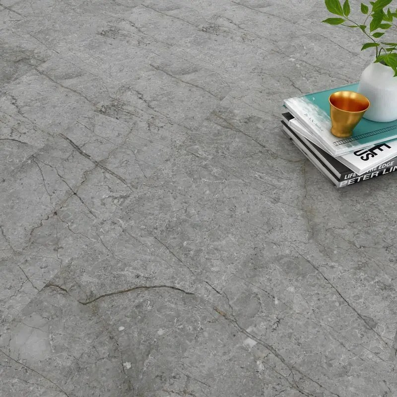 china spc cement effect locking vinyl