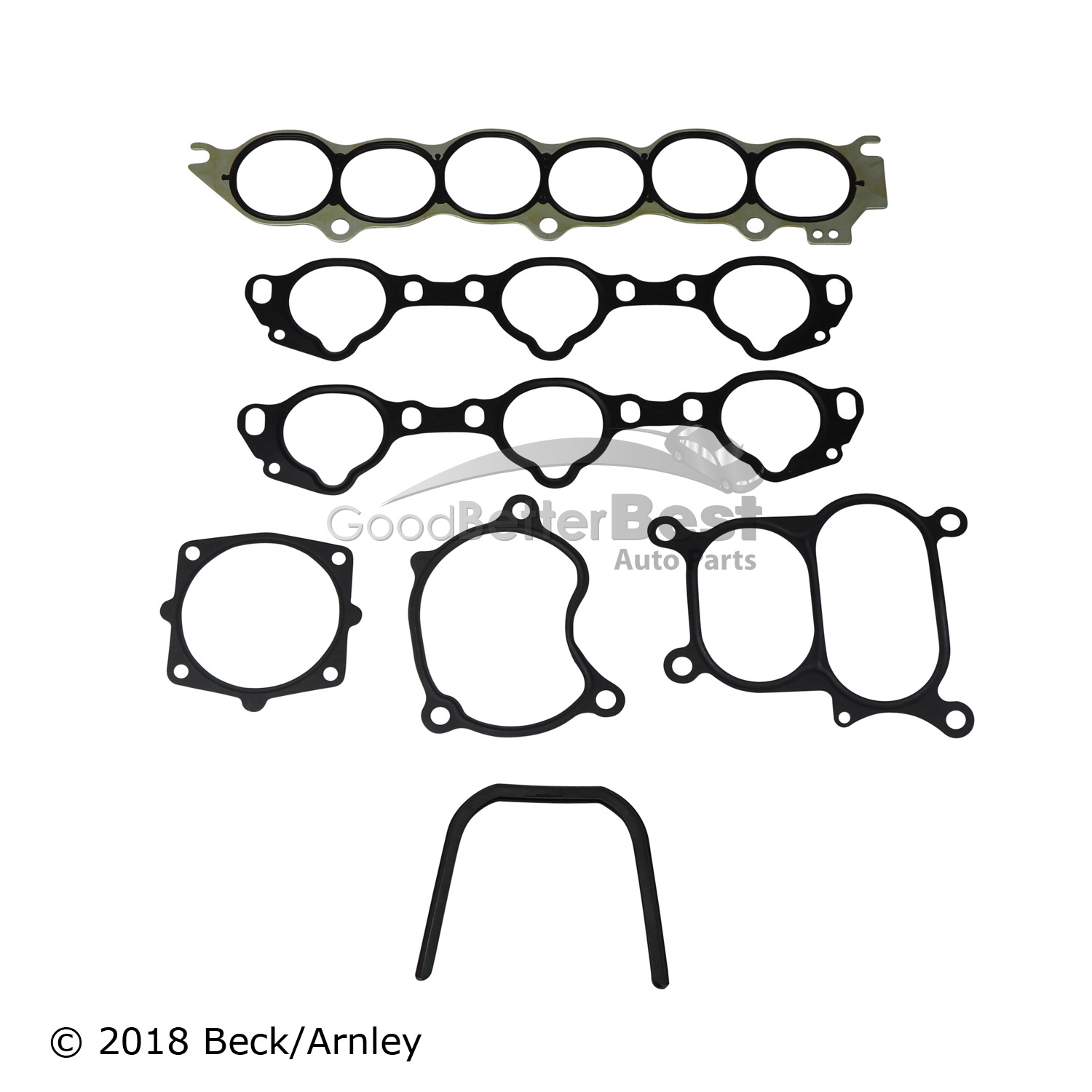 New Beck Arnley Engine Intake Manifold Gasket Set 037