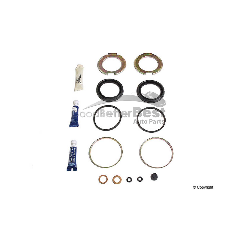 New Trucktec Disc Brake Caliper Repair Kit Front 0243137