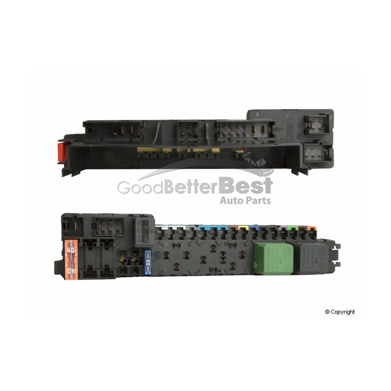 hight resolution of new oe supplier fuse box front right 0035454701 mercedes mb