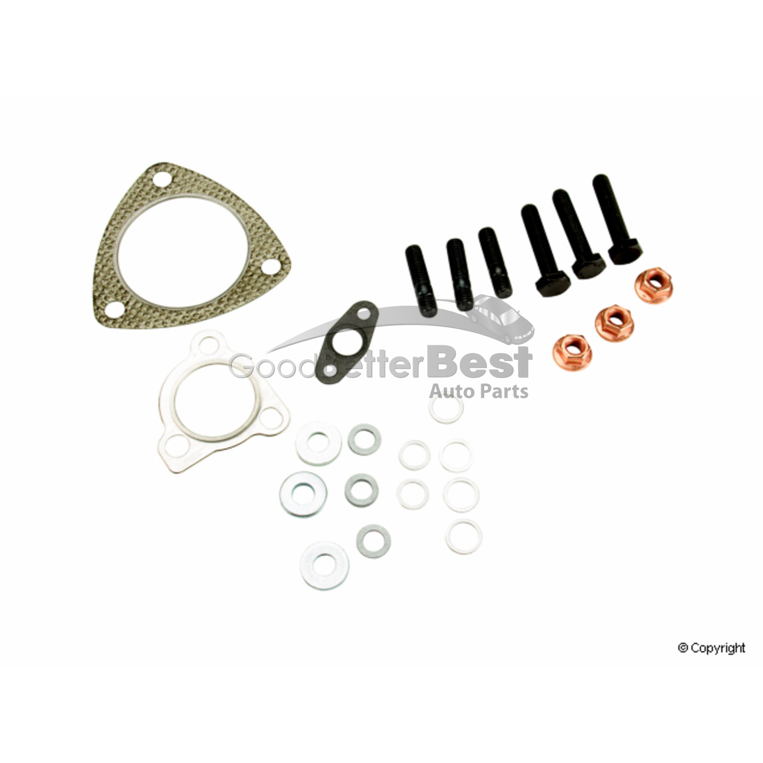 New Victor Reinz Turbocharger Mounting Kit 041004501