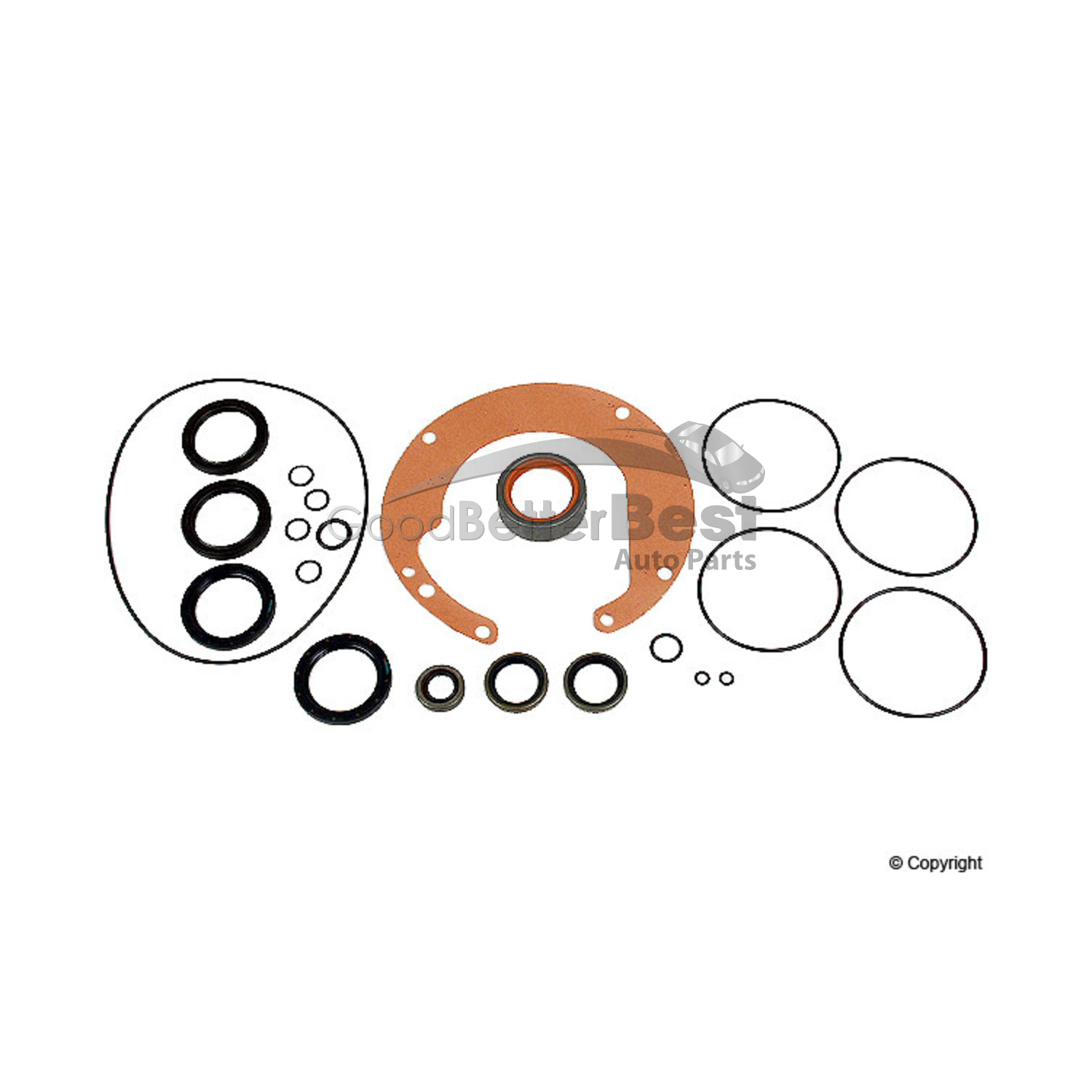New Hap Differential Gasket Set Front 087498007 for Audi