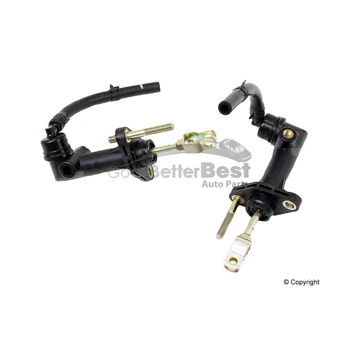 One New Genuine Clutch Master Cylinder 0k01a A For Kia
