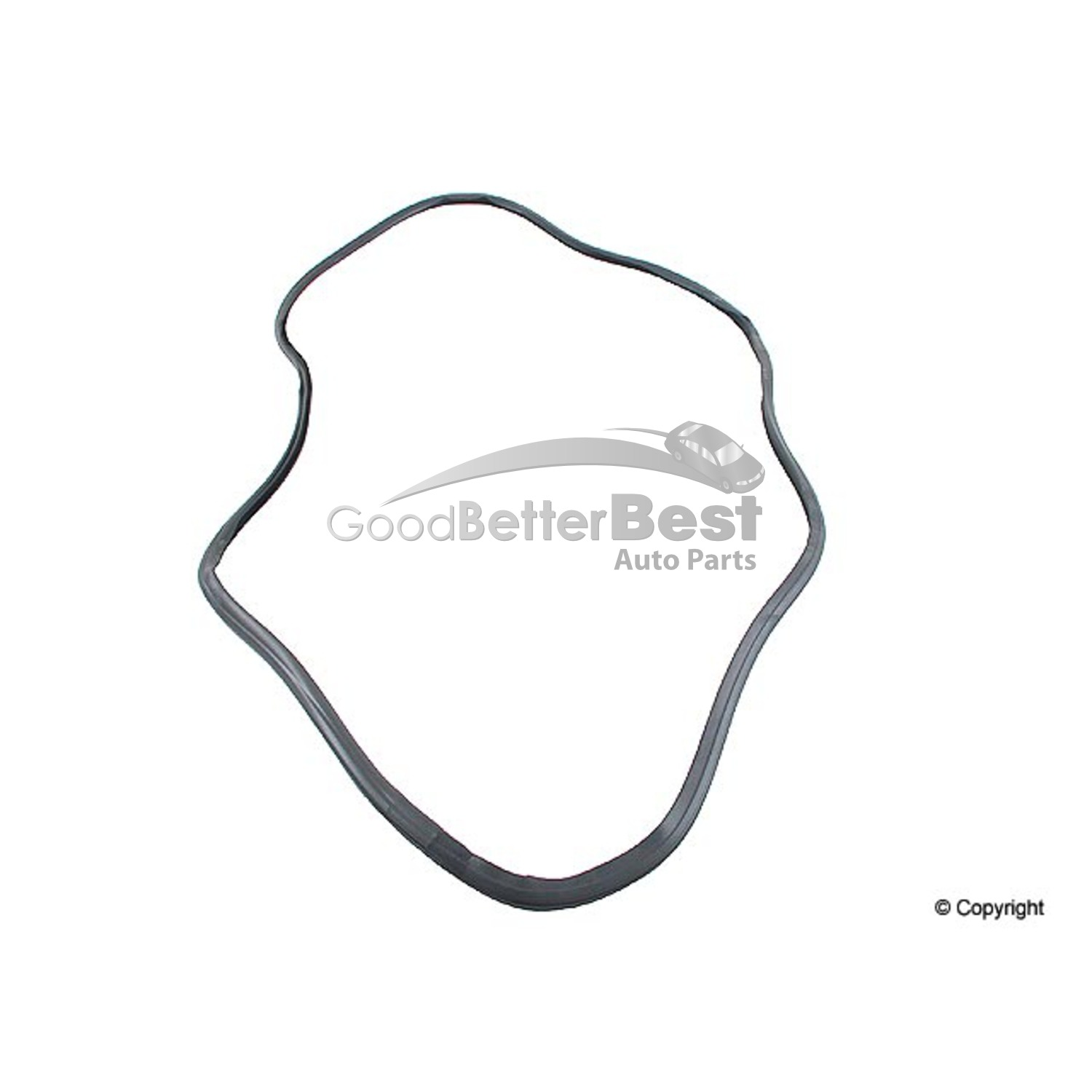 One New URO Trunk Lid Seal 1077580098 for Mercedes MB