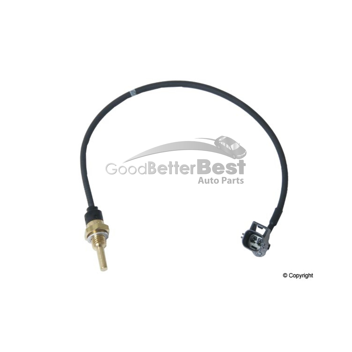 One New Genuine Engine Coolant Temperature Sensor 1275548
