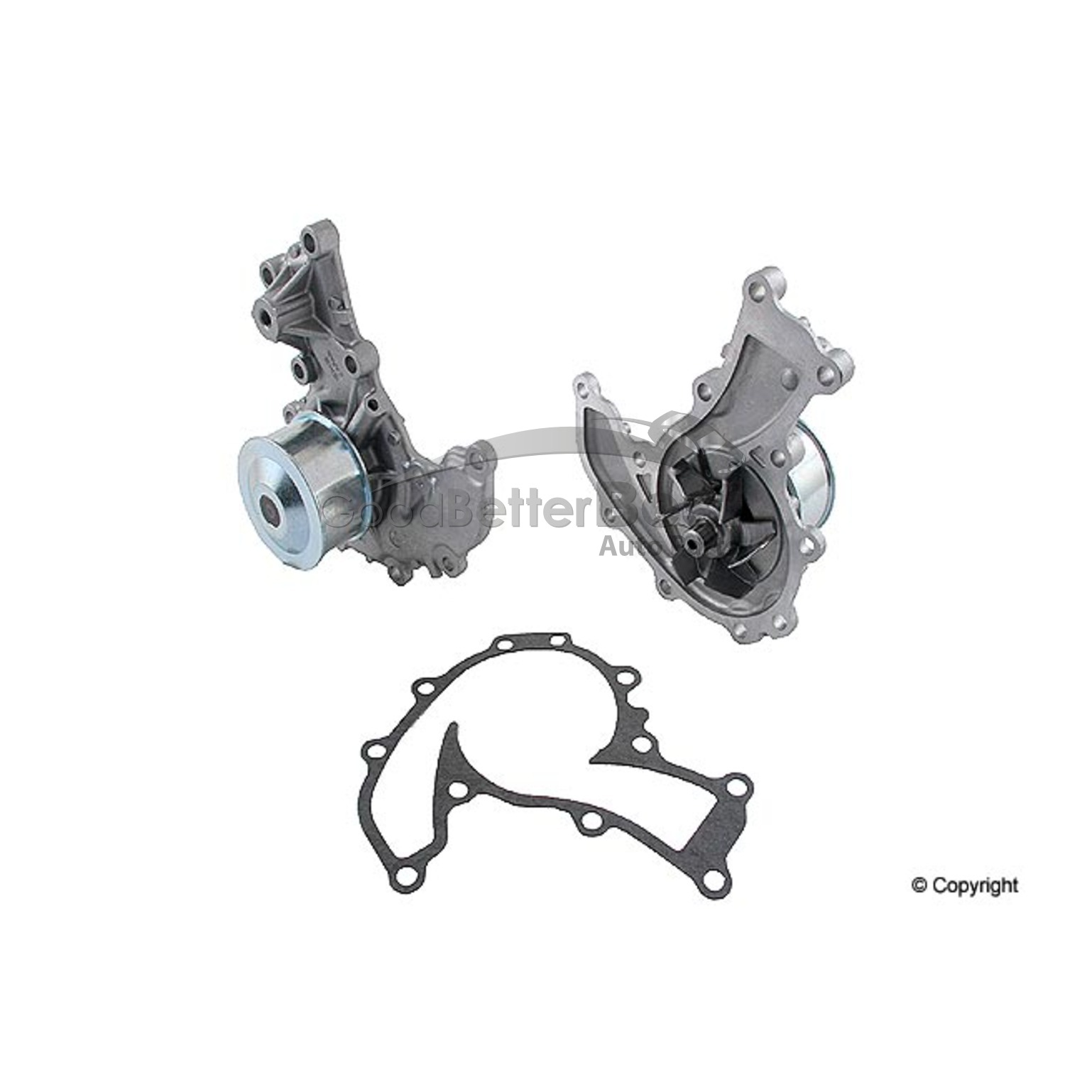 One New GMB Engine Water Pump 1401440 8971675540 for Honda
