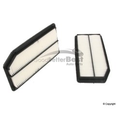 details about one new genuine air filter 17220rjea10 for honda ridgeline [ 1500 x 1500 Pixel ]