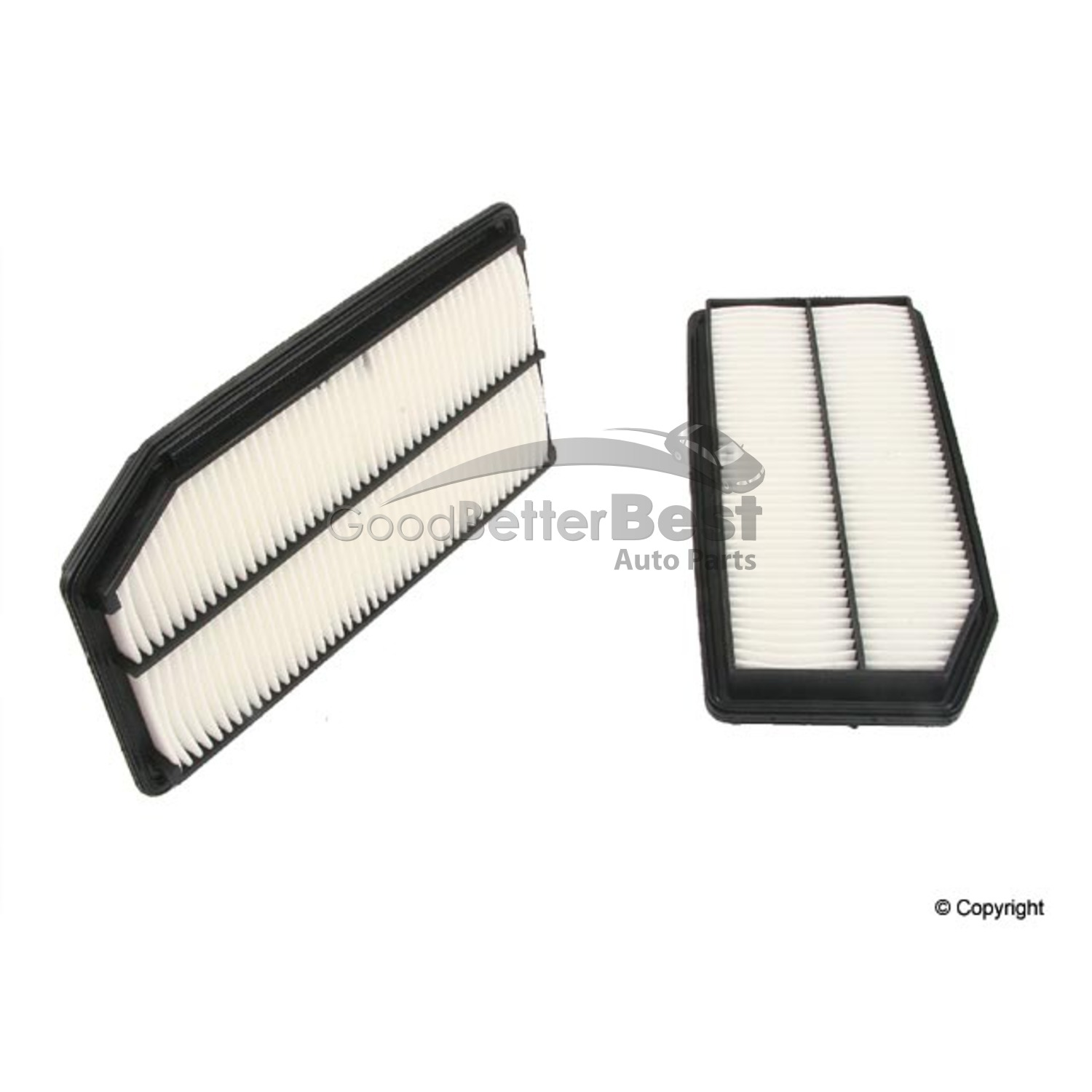 hight resolution of details about one new genuine air filter 17220rjea10 for honda ridgeline