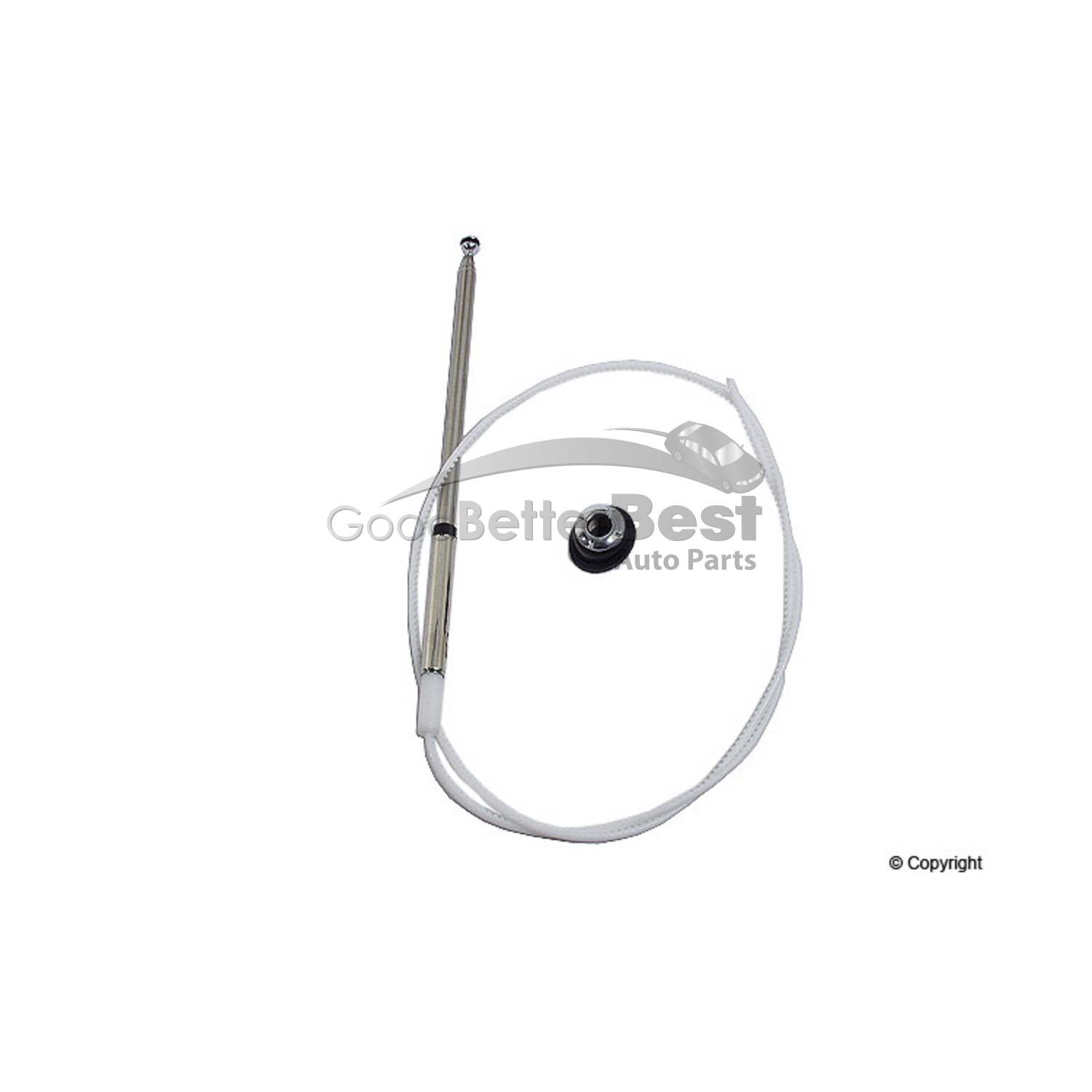 One New MTC Antenna Mast 8500 39177SM4305 for Honda
