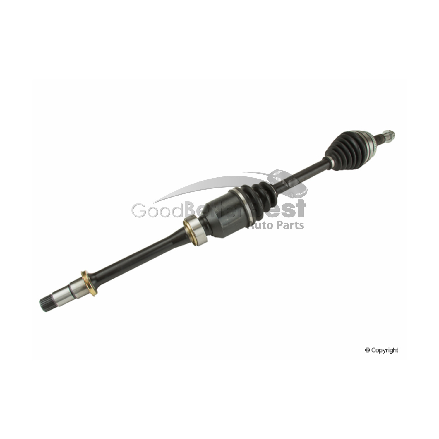 One New OPparts CV Axle Shaft Front Right TO10041