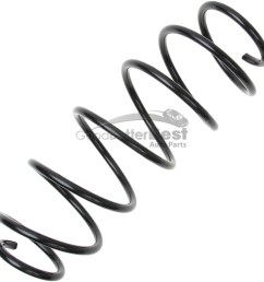 one new lesjofors coil spring front 4086006 for smart fortwo [ 1500 x 1500 Pixel ]
