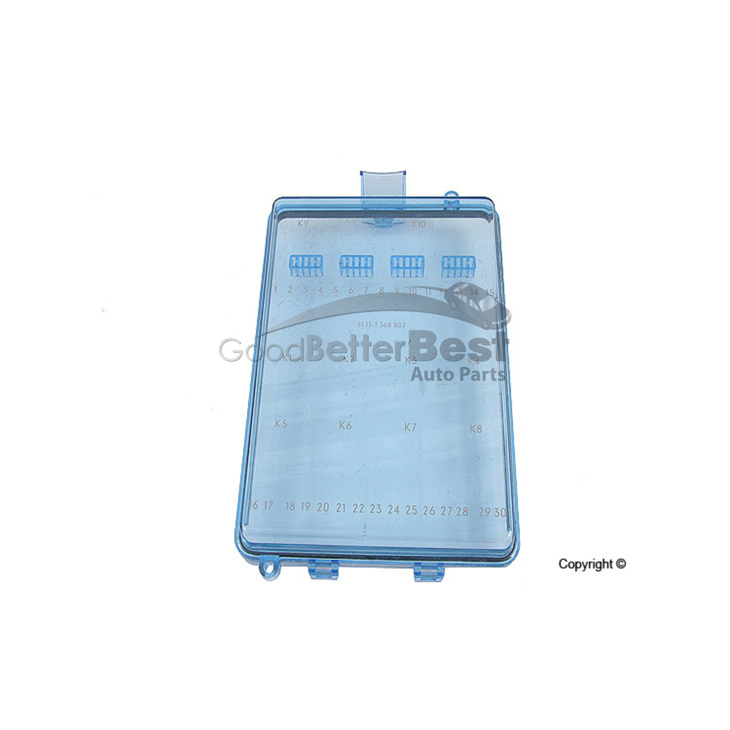 hight resolution of new genuine fuse box cover 61131368802 for bmw