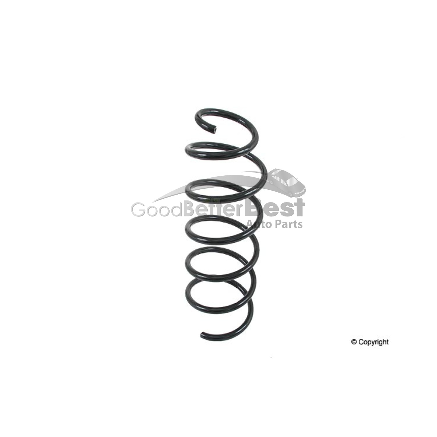 One New Lesjofors Coil Spring Front 4095830 9492226 for