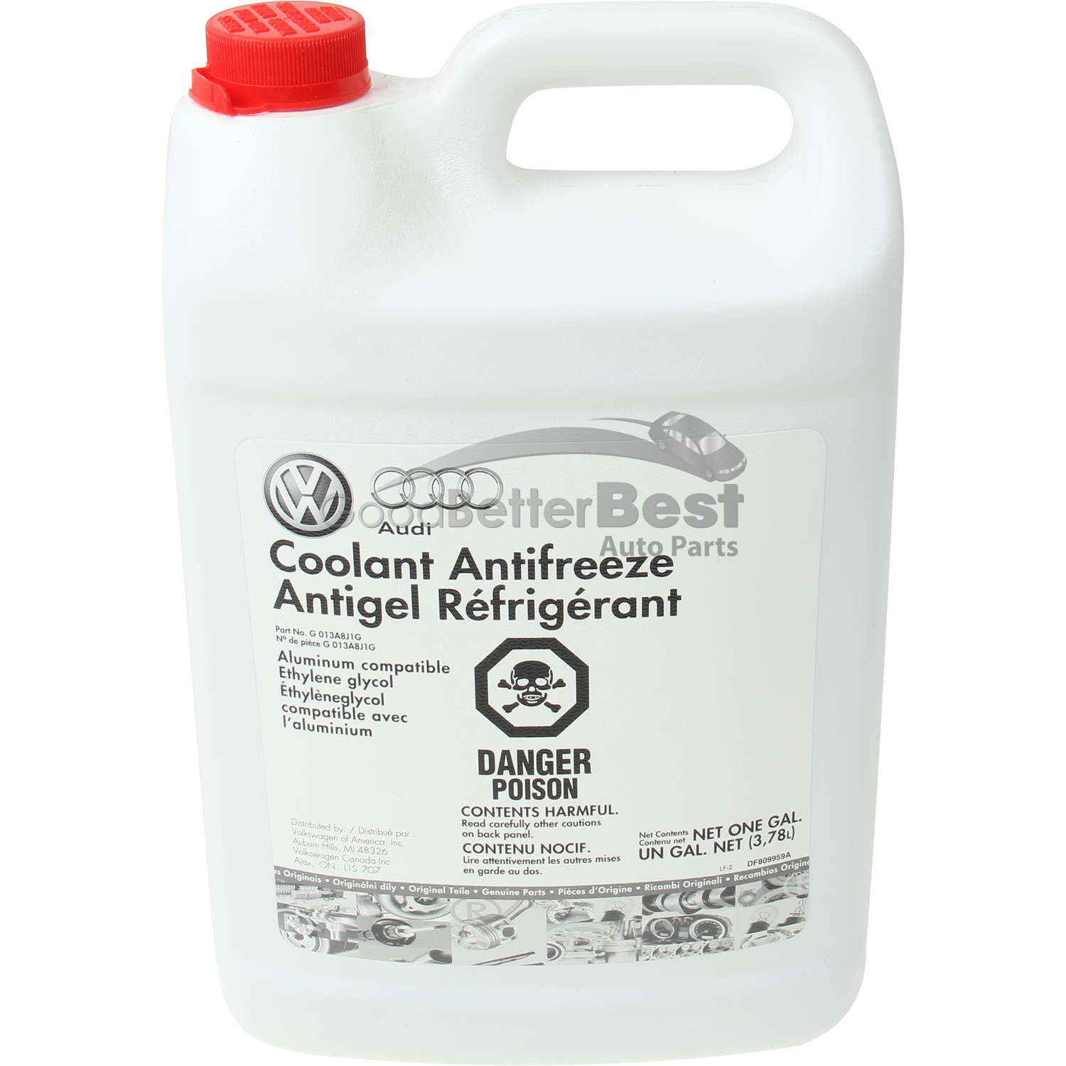 hight resolution of details about one new genuine engine coolant antifreeze g013a8j1g for audi volkswagen vw