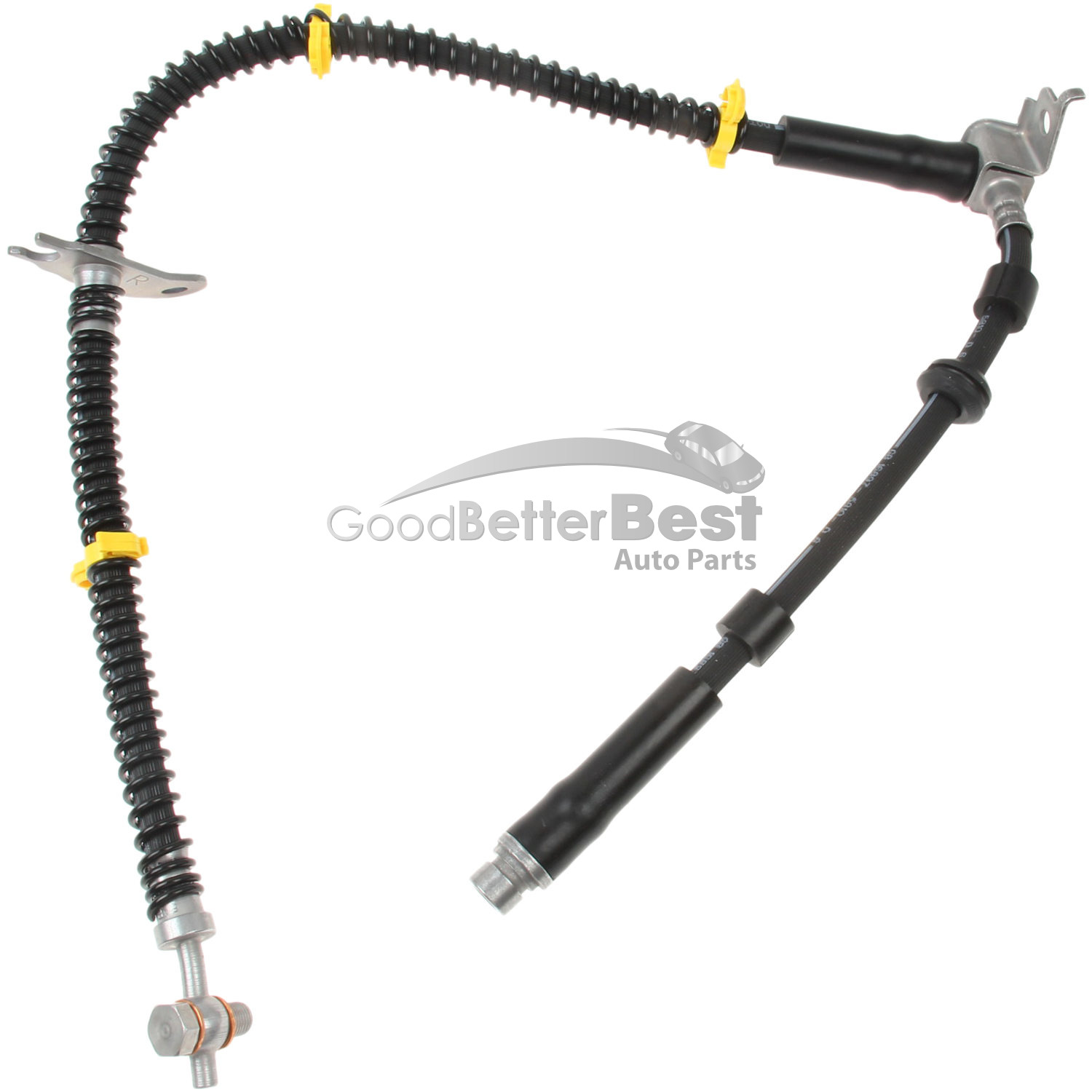 One New Eurospare Brake Hydraulic Hose Front Right