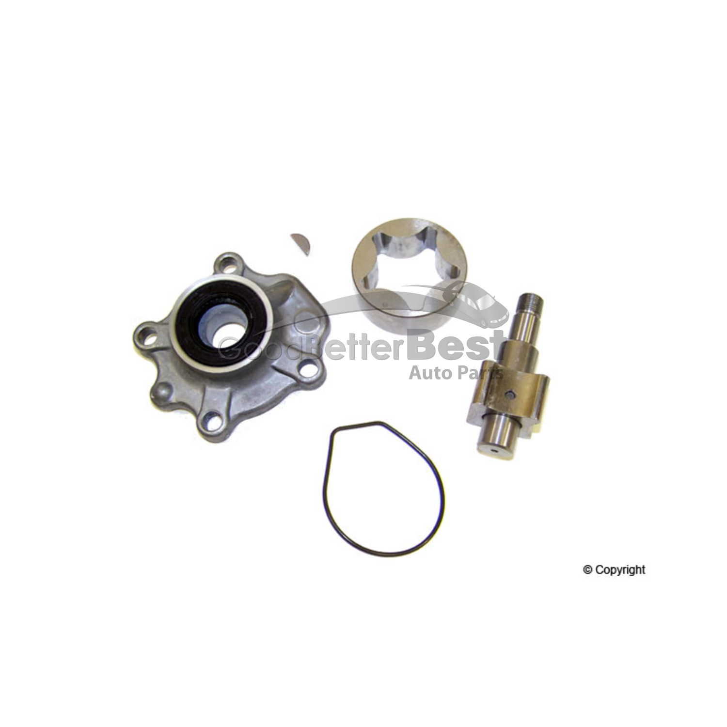 One New Rock Engine Oil Pump OP305 8944597301 for Honda