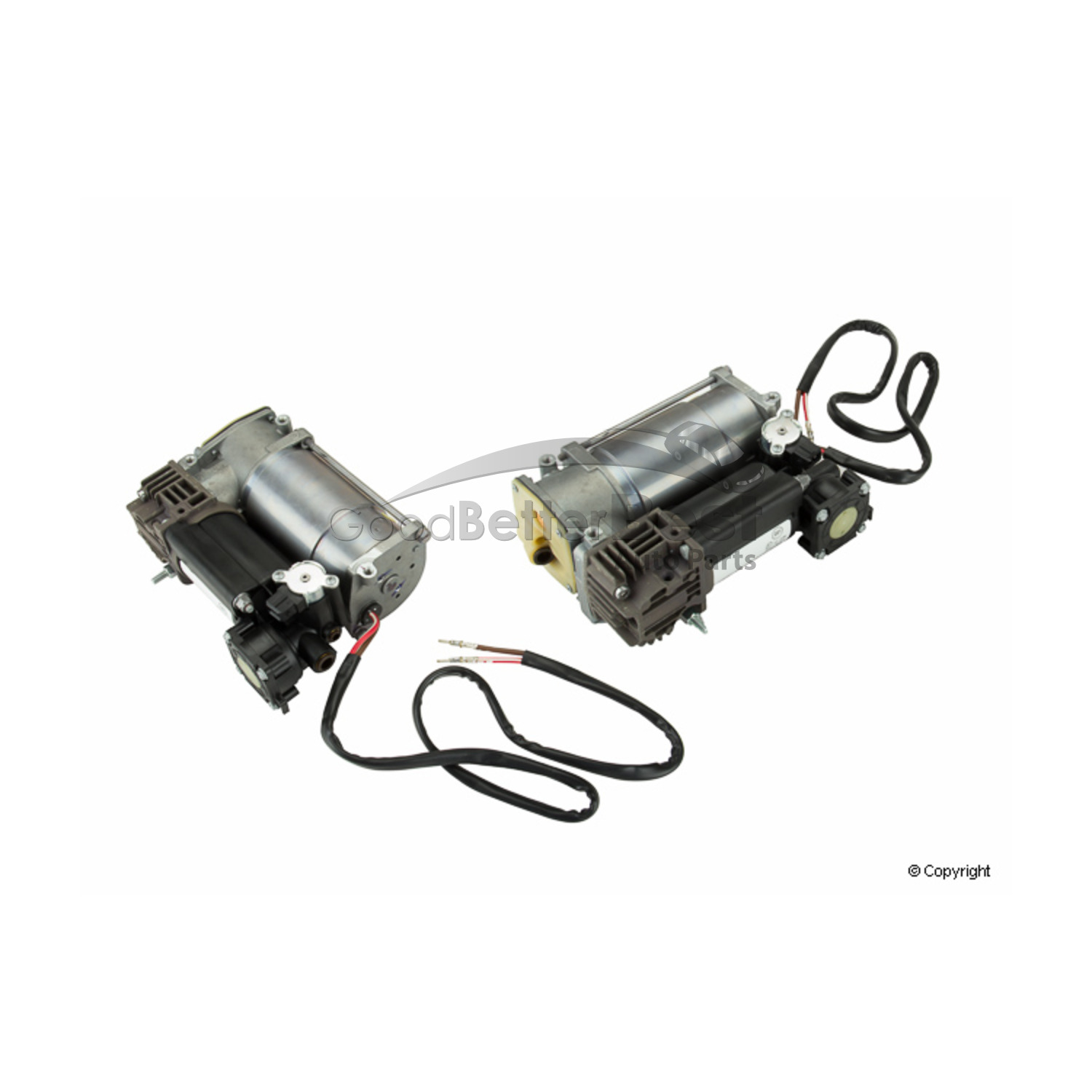 One New Wabco Air Suspension Compressor P For Bmw X5
