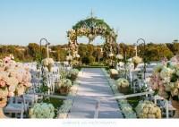 Gorgeous Outdoor Wedding Ceremony Setting - Wedding Dcor ...