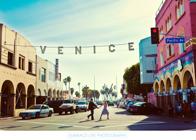 Iconic Venice Sign In Venice Beach California