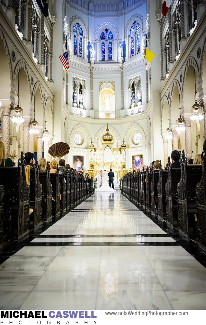 Immaculate Conception Church New Orleans Wedding