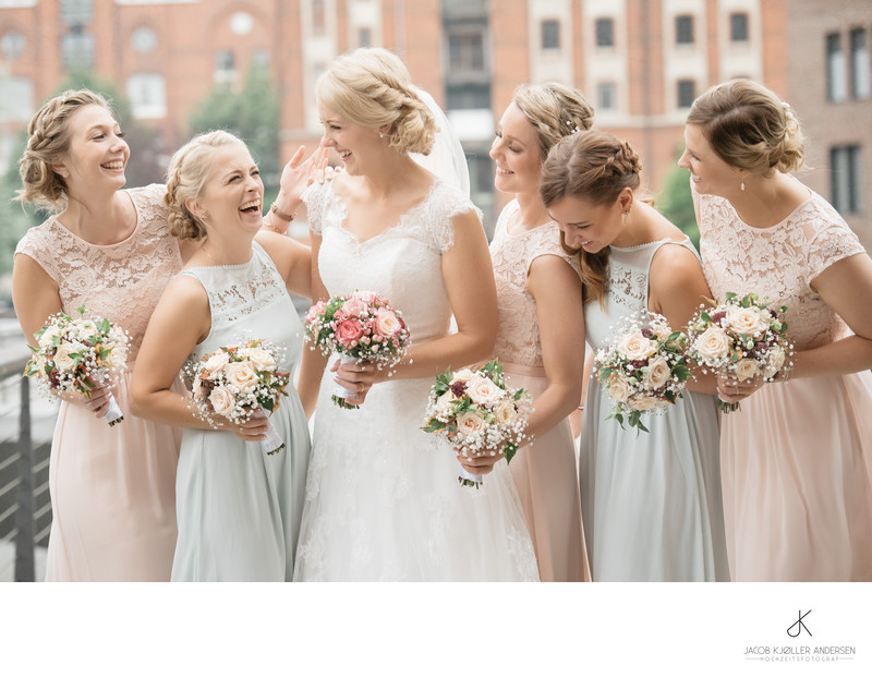 Fotograf bei einer Hochzeit in Hamburg