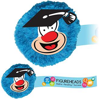 Promotional Teacher Mophead Card Face Logobugs Printed