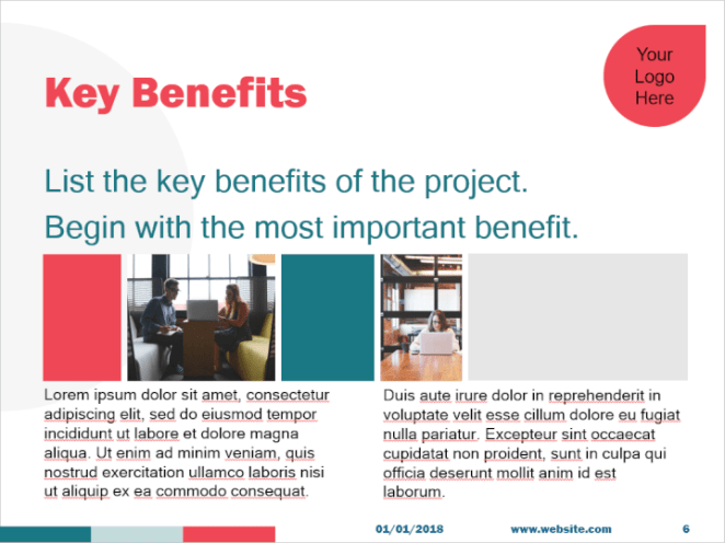 Grant proposal PowerPoint template