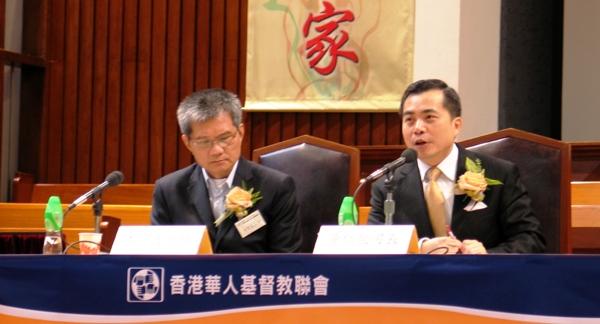 基督日報(香港) - 黃仁龍:教會最能為社會發放「正能量」