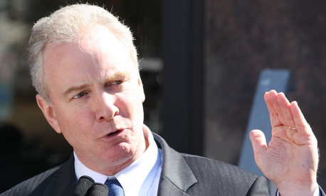 Rep. Chris Van Hollen, D-Md., asked CBO to look into the size of the shadow workforce.