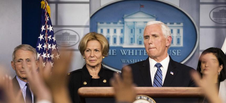 As White House Involves More Agencies With Coronavirus Response ...