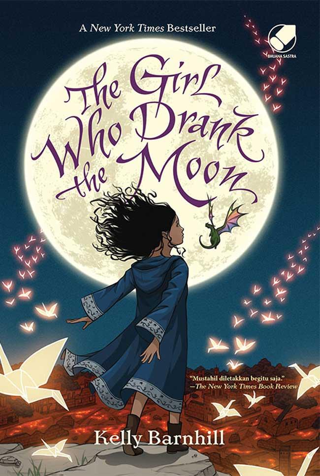 Penjelajah Buku: REVIEW BUKU THE GIRL WHO DRANK THE MOON
