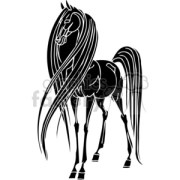 royalty-free horse with