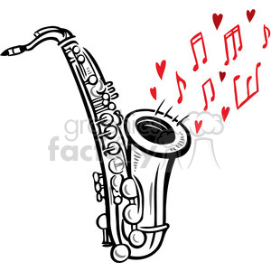 Sax Clip Art, Photos, Vector Clipart, Royalty-Free Images # 3
