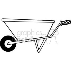 Wheelbarrow Clip Art Photos Vector Clipart Royalty Free