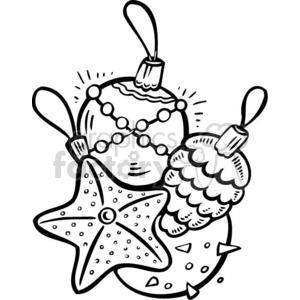 Christmas decoration bulbs 381141 vector clip art image