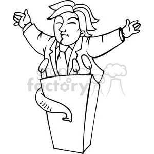 Speaking Clip Art, Photos, Vector Clipart, Royalty-Free