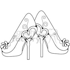high jump cartoon outline 390692 vector clip art image