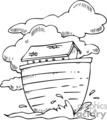 Royalty-Free cartoon Noah's Ark 164722 vector clip art