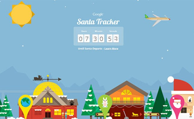 Google Doodle Christmas Takes You To Santa Tracker
