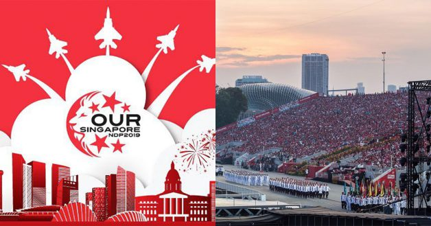 Singaporeans  PRs can apply for NDP 2019 Tickets online