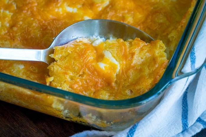 Cheesy Jiffy Corn Casserole 12 Tomatoes