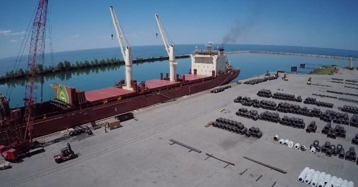 Port of Indiana – Burns Harbor: feeding the Region's economy since 1970 –  PortageLife
