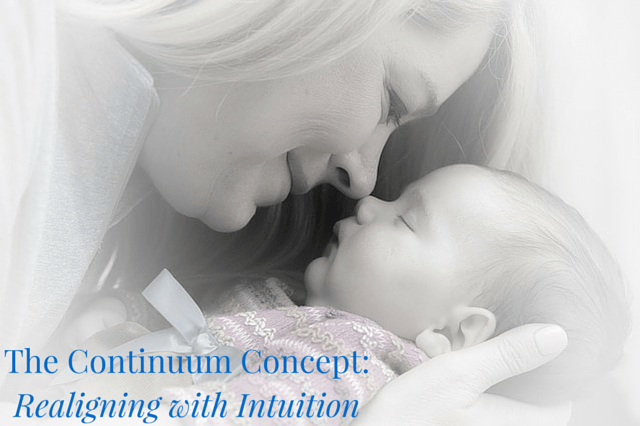 The Continuum Concept: Realigning with Intuition