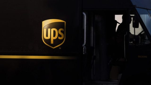 UPS Electric Delivery Truck